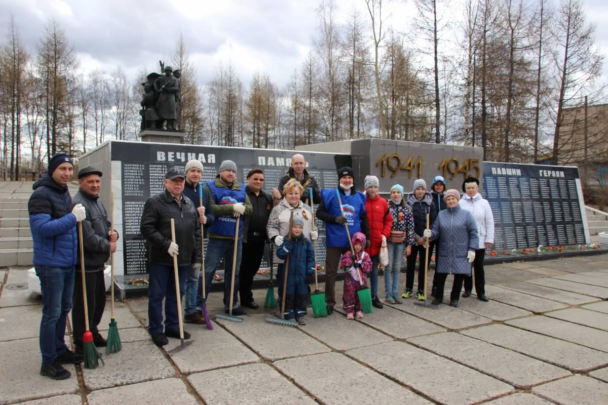 В регионе продолжаются субботники у воинских мемориалов и мест памяти